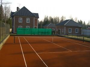Строительство теннисного корта в коттеджном поселке