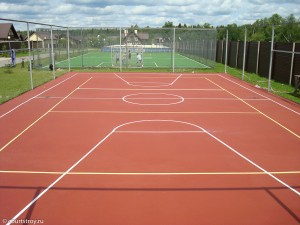 Покрытие хард - теннисные корты
