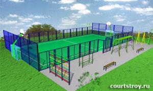 Покрытие спортивных площадок, монтаж ограждения, укладка искусственной травы, продажа искусственной травы, строительство спортплощадок и многое другое