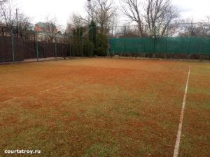Новая спортивная площадка из старой