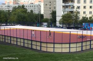 Покрытие хард для спортивных площадок